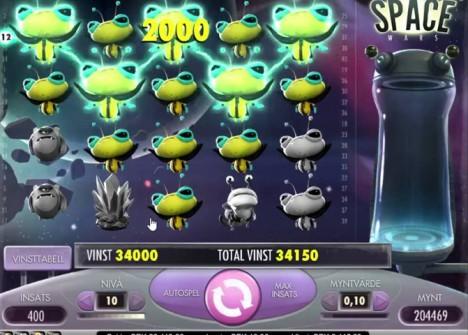 Space Wars игровой автомат играть