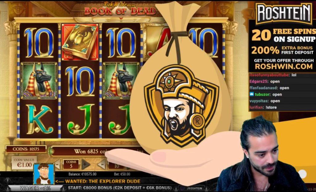 roshtein casino
